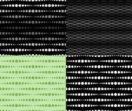 Set of seamless patterns Royalty Free Stock Image