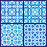 Set of seamless patterns. Set of abstract seamless patterns vector illustration