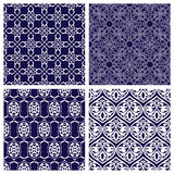 Set of Seamless Patterns in Arabian Style. Stock Photos