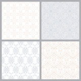 Set of Seamless Patterns in Arabian Style. Stock Photography