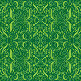 Set of seamless patterns with a flourish Stock Images