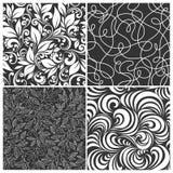 Set of seamless patterns Royalty Free Stock Image