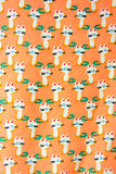 Set of seamless patterns with kittens. Patterns cartoon cats Stock Photography