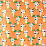 Set of seamless patterns with kittens. Patterns cartoon cats Stock Images