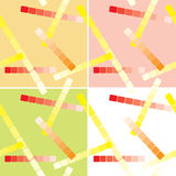 Set of seamless patterns with lines - vector Stock Images