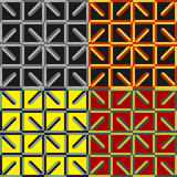 Set of seamless patterns Stock Images