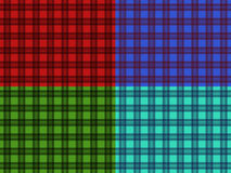 Set of seamless plaid patterns Stock Photo