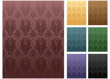 Set of Seamless Stripes Royalty Free Stock Images