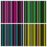 Set of Seamless stripes background pattern Stock Photo