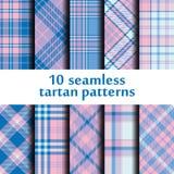 Set of seamless tartan pattern. Vector Stock Photography