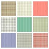 Set of  seamless texture Stock Image