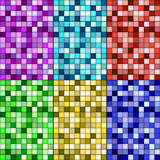 Set of seamless textures Royalty Free Stock Image