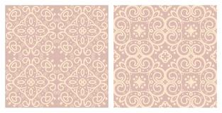 Set of seamless textures Stock Photo