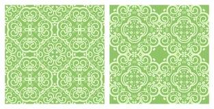Set of seamless textures Stock Image