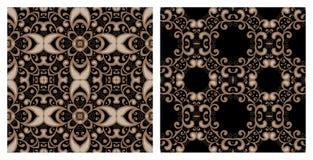 Set of seamless textures Stock Photography