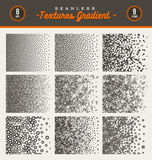 Set of seamless textures Royalty Free Stock Images