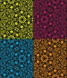 Set of seamless tribal patterns Stock Photography