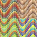 Set of seamless vector patterns Stock Image