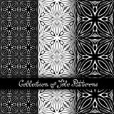Set of 3 Seamless Vintage Patterns (Vector Stock Photography