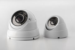 Set of security cameras Royalty Free Stock Image