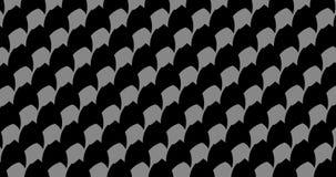 Set 4 sekundy modulacja bezszwowi wzory, poruszony tło ilustracja wektor