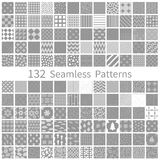 Set of semless patterns Stock Photography