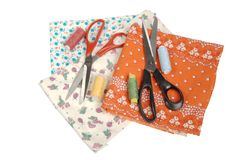 Set for sewing Royalty Free Stock Images