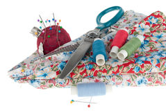 Set for sewing Royalty Free Stock Photos