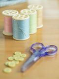 Set of sewing threads Royalty Free Stock Photo