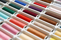 Set of sewing threads Royalty Free Stock Photography