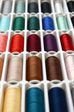 Set of sewing threads Stock Photos