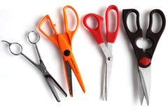 Scissors set Stock Images
