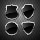 Set of  shields. Stock Photos