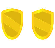 Set of shields illustrated Royalty Free Stock Photo