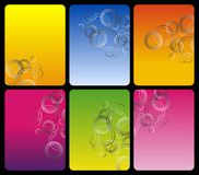 Set of shiny backgrounds Royalty Free Stock Photo