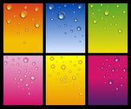 Set of shiny backgrounds Stock Images