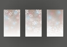 Set of 240 x 400 shiny banners Stock Photos