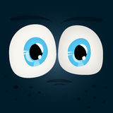 Set of Shiny Character Eyes Stock Photography