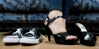 Set of shoes Royalty Free Stock Photography
