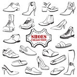 Set of shoes Royalty Free Stock Image