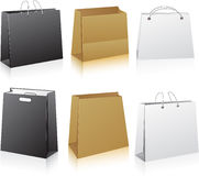 Set of shopping bags. Stock Photo