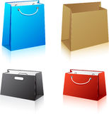 Set of shopping bags. Stock Photography