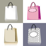Set of shopping bags Royalty Free Stock Photo