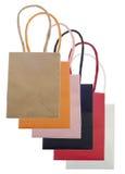 set shopping för påsesäck Royaltyfri Fotografi