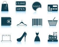 Set of shopping icon Stock Photo
