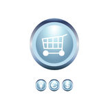 Set of shopping icons Royalty Free Stock Photography