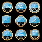 Set of Shopping and Marketing Badges. Vector illustration Stock Images