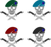 Set of sign of special forces of EU Royalty Free Stock Photography