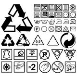A set of signs for goods Royalty Free Stock Image