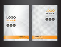 Set silver Cover design vector illustration Royalty Free Stock Images